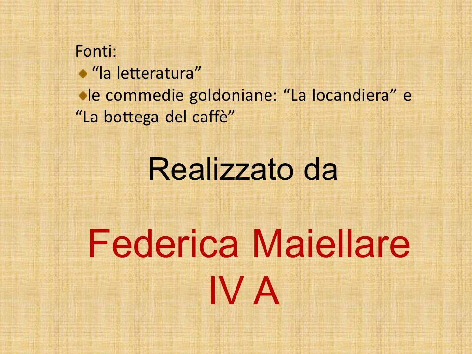 Federica Maiellare IV A