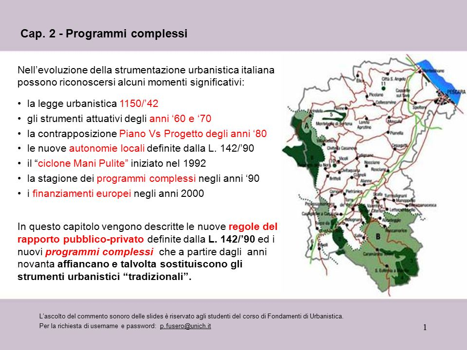 Cap. 2 - Programmi complessi