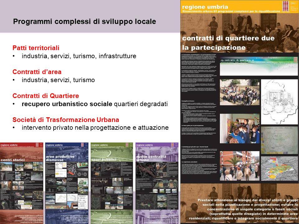 Programmi complessi di sviluppo locale