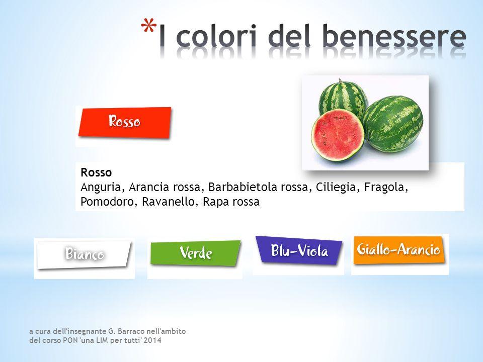 I colori del benessere Rosso