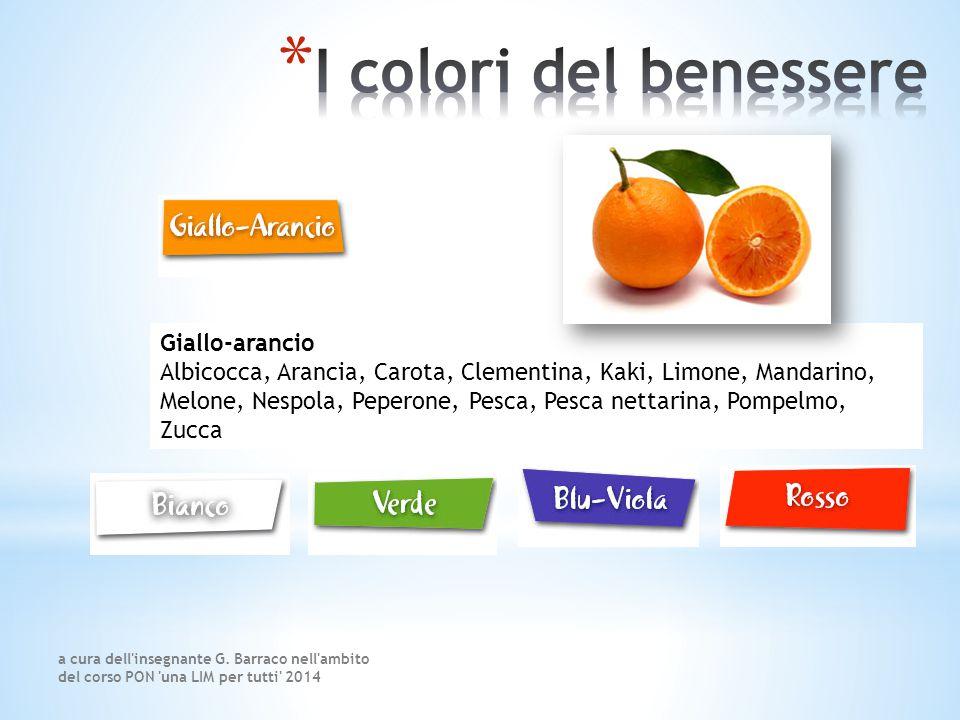 I colori del benessere Giallo-arancio
