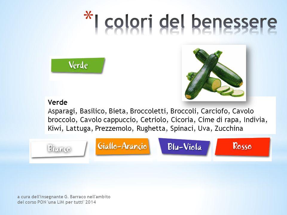 I colori del benessere Verde