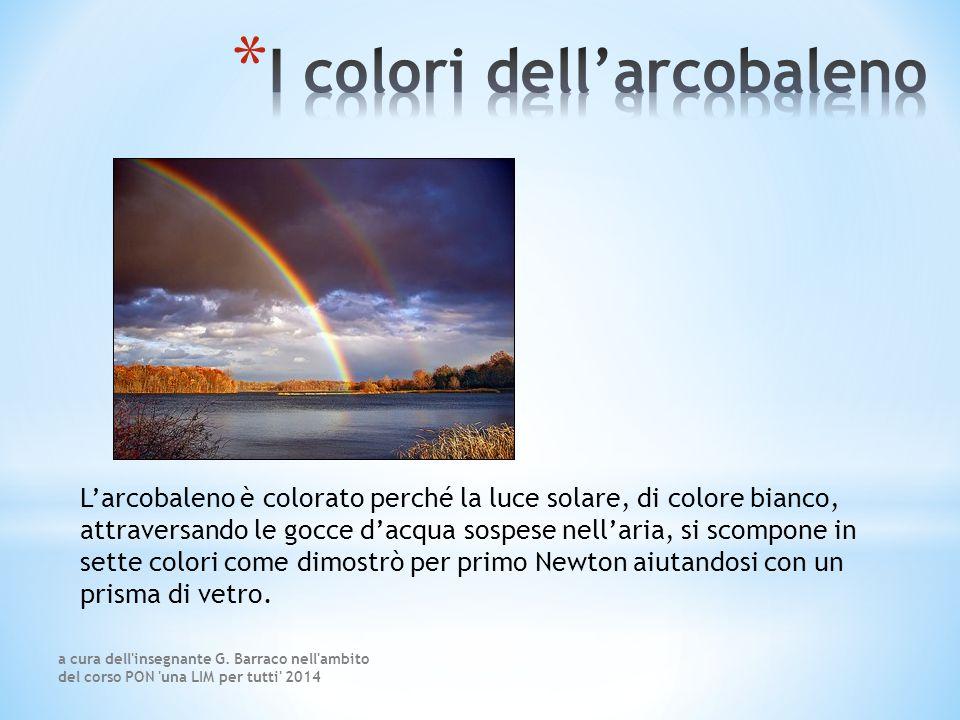 I colori dell'arcobaleno