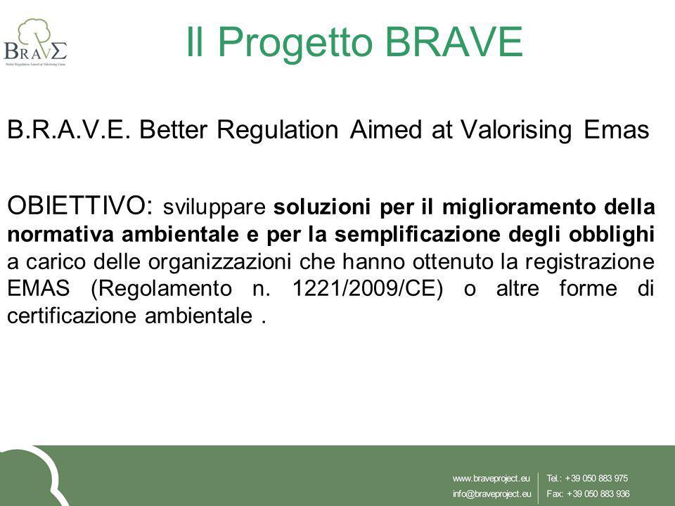 Il Progetto BRAVE