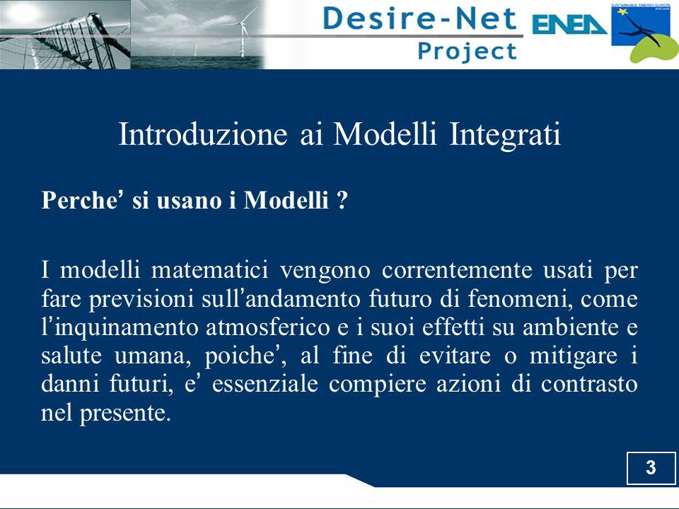 Introduzione ai Modelli Integrati