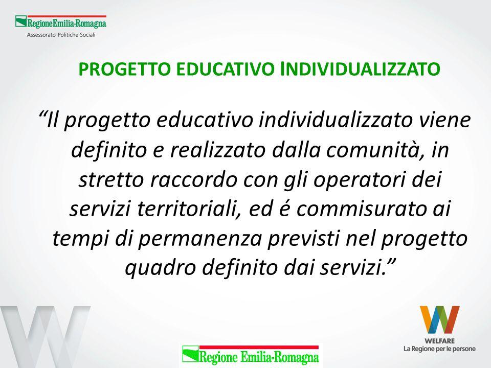 PROGETTO EDUCATIVO INDIVIDUALIZZATO