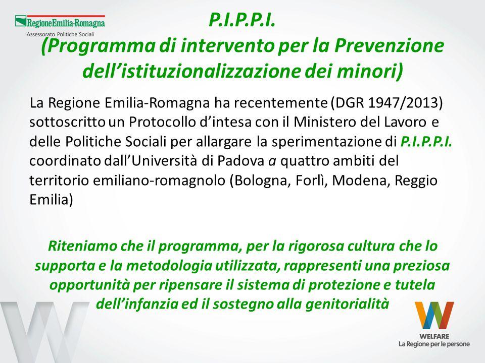 P.I.P.P.I. (Programma di intervento per la Prevenzione dell'istituzionalizzazione dei minori)