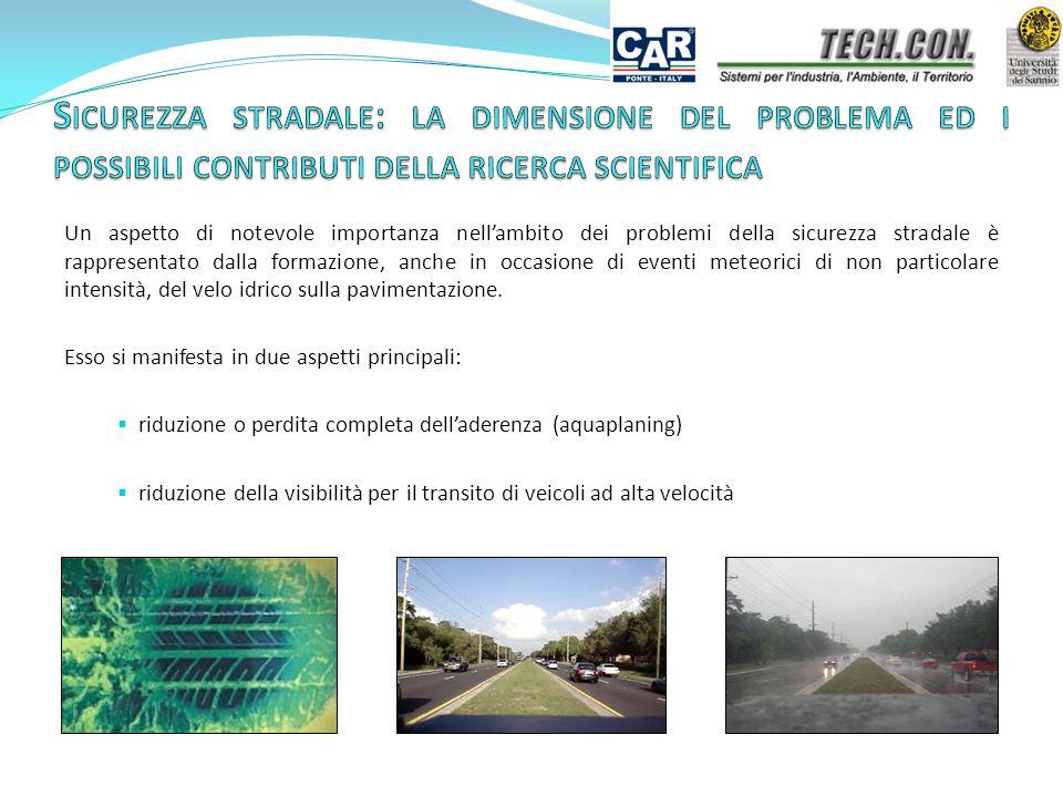 Sicurezza stradale: la dimensione del problema ed i possibili contributi della ricerca scientifica