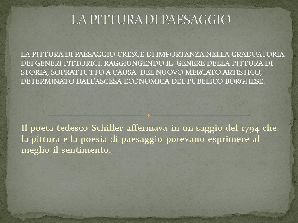 LA PITTURA DI PAESAGGIO