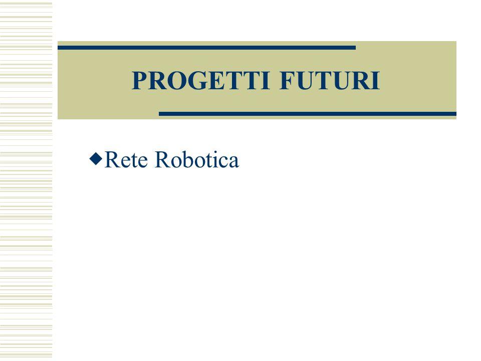 PROGETTI FUTURI Rete Robotica