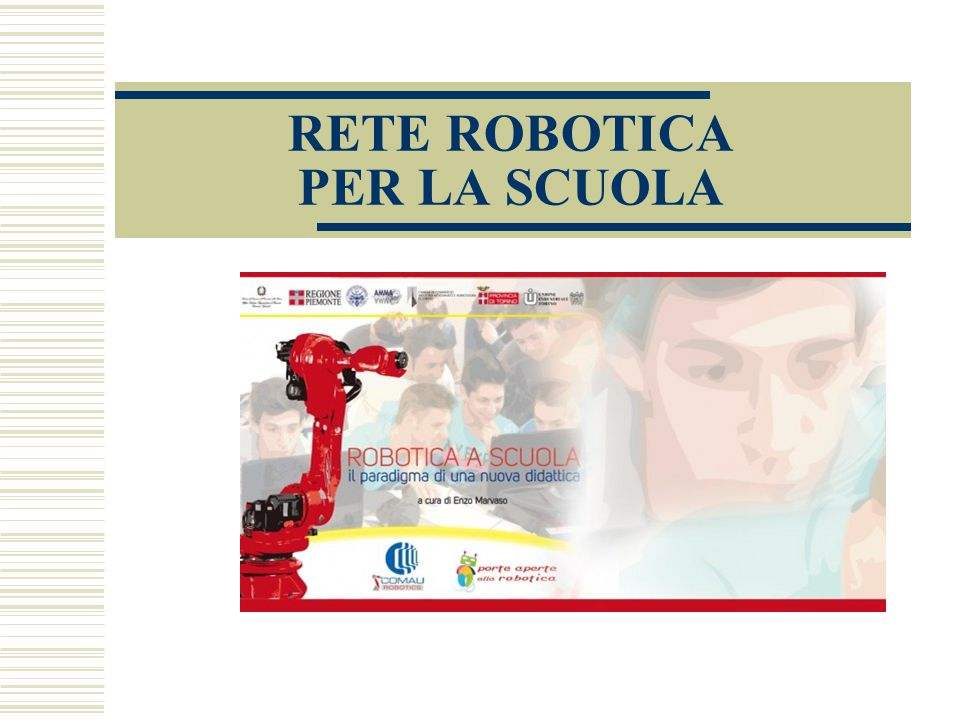 RETE ROBOTICA PER LA SCUOLA