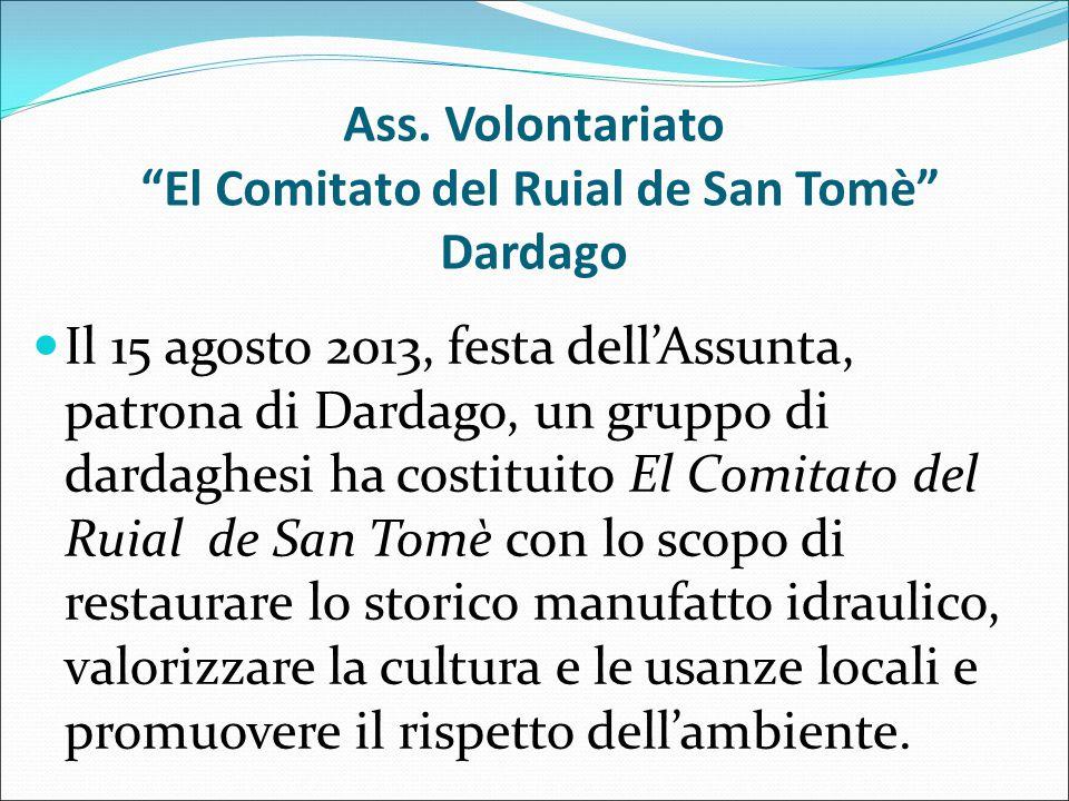 Ass. Volontariato El Comitato del Ruial de San Tomè Dardago