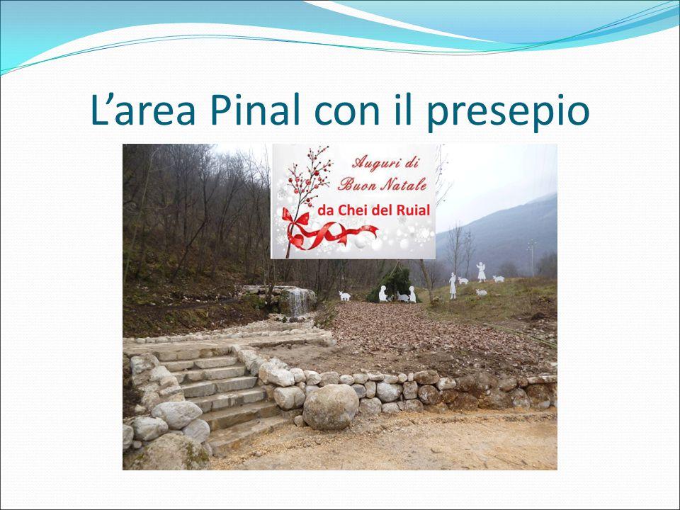 L'area Pinal con il presepio