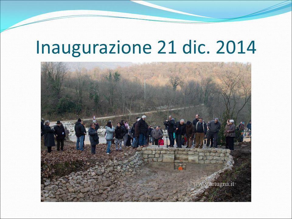 Inaugurazione 21 dic. 2014