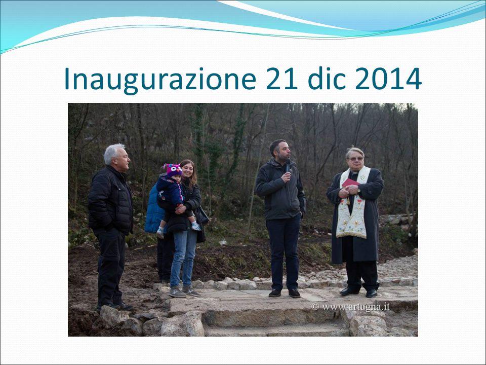 Inaugurazione 21 dic 2014