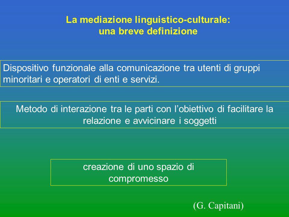 La mediazione linguistico-culturale: