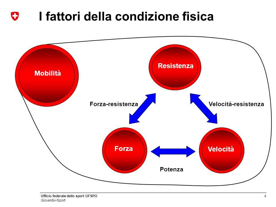 I fattori della condizione fisica