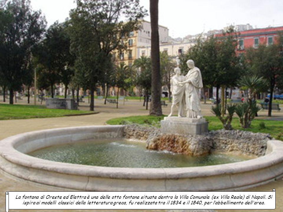 La fontana di Oreste ed Elettra è una delle otto fontane situate dentro la Villa Comunale (ex Villa Reale) di Napoli.