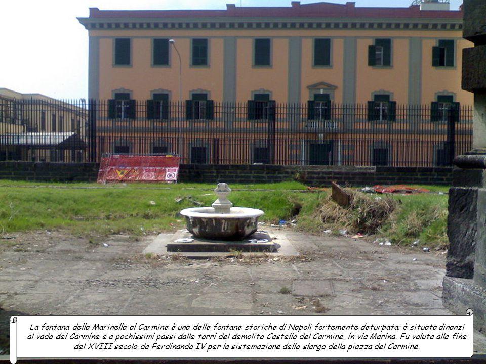 La fontana della Marinella al Carmine è una delle fontane storiche di Napoli fortemente deturpata; è situata dinanzi al vado del Carmine e a pochissimi passi dalle torri del demolito Castello del Carmine, in via Marina.