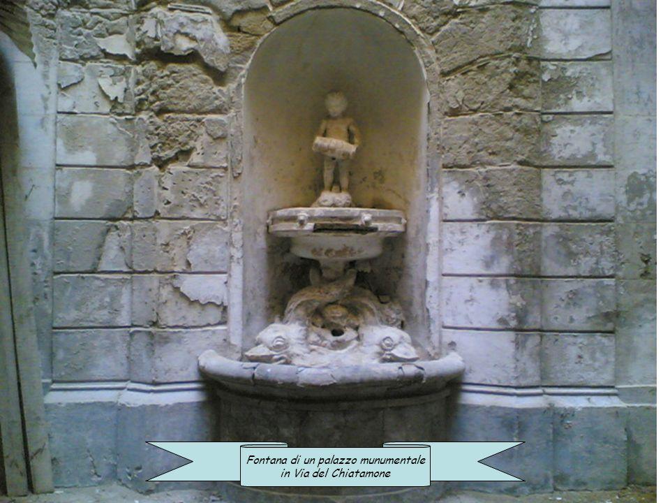 Fontana di un palazzo munumentale
