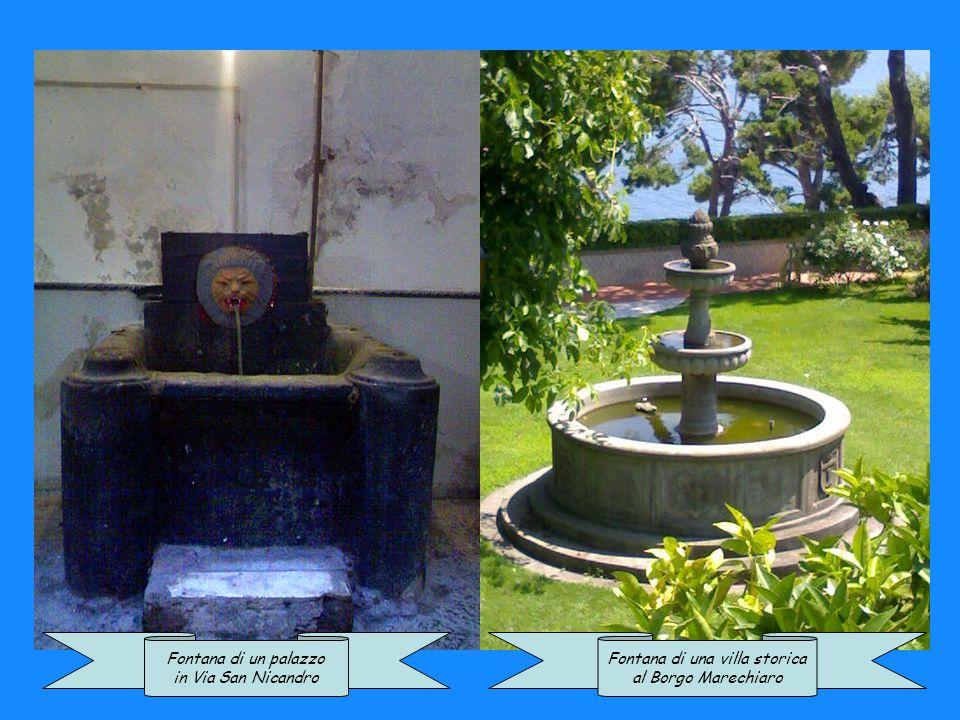 Fontana di una villa storica