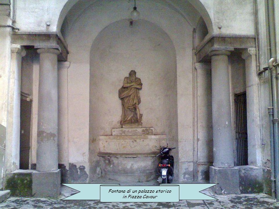 Fontana di un palazzo storico