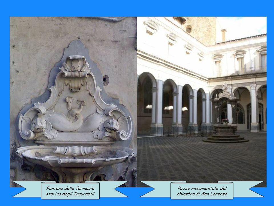 Fontana della farmacia storica degli Incurabili Pozzo monumentale del