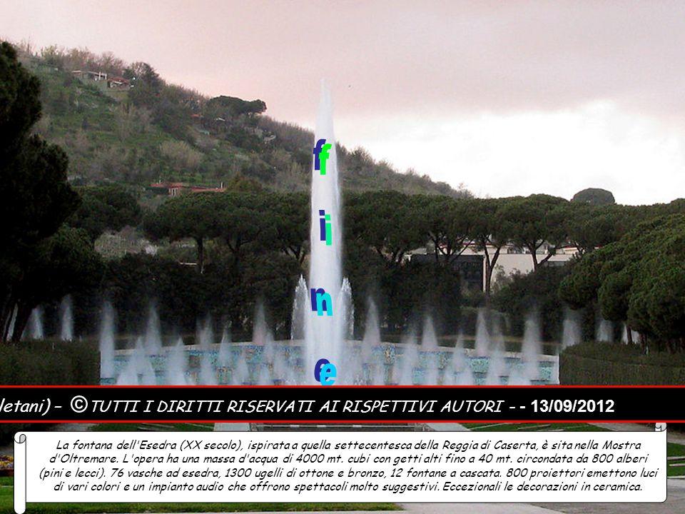 fine Notizie e foto: Internet – Musica: Qui fu Napoli (Mandolini napoletani) – ©TUTTI I DIRITTI RISERVATI AI RISPETTIVI AUTORI - - 13/09/2012.