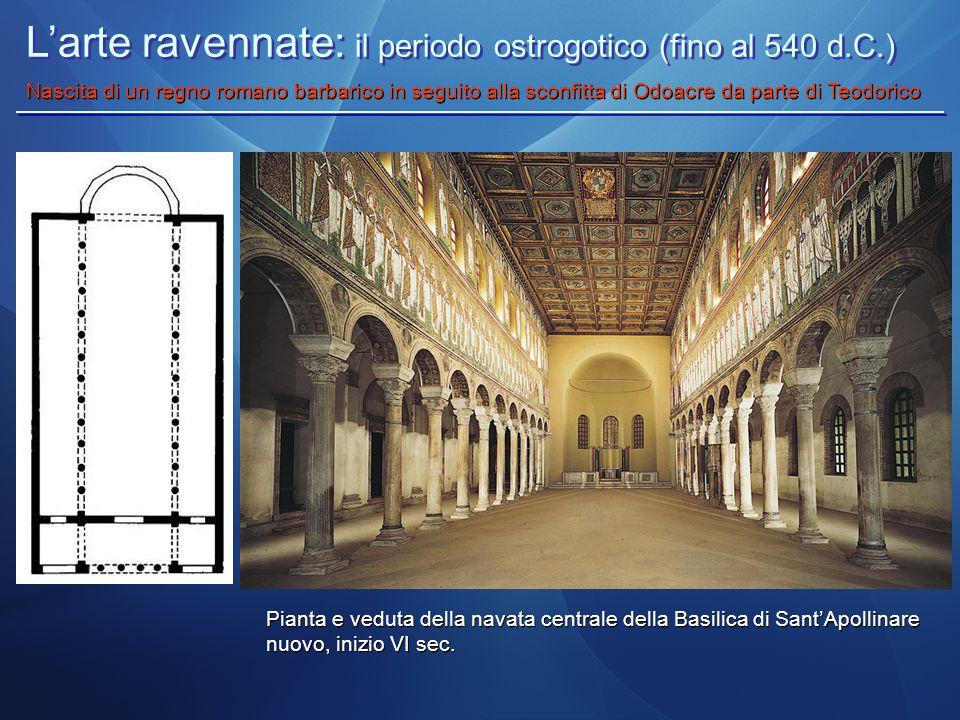 L'arte ravennate: il periodo ostrogotico (fino al 540 d.C.)