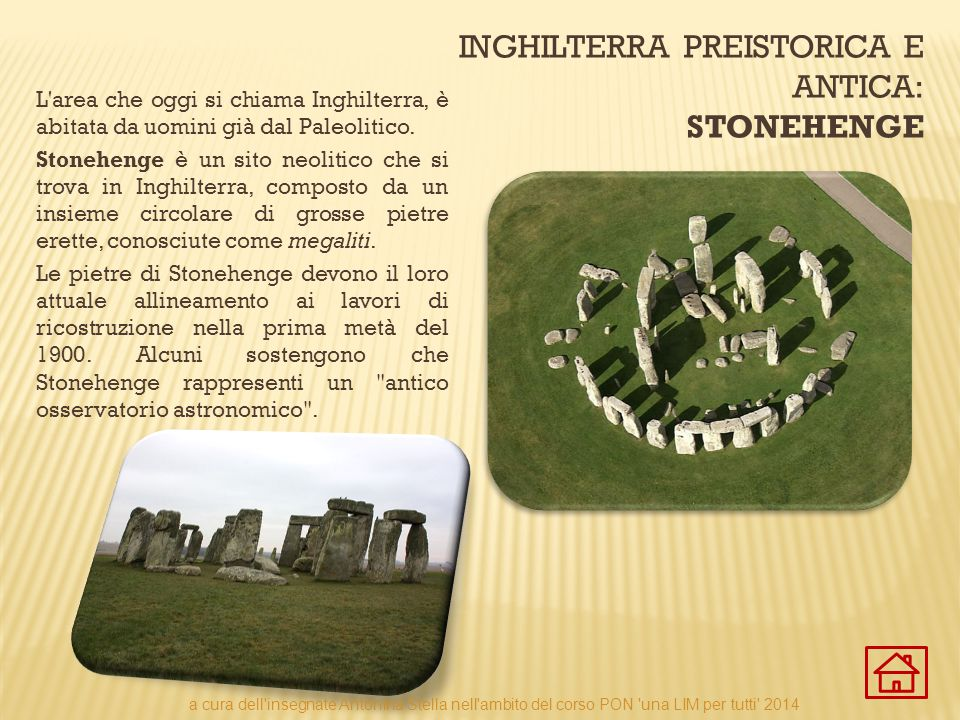 Inghilterra preistorica e antica: Stonehenge