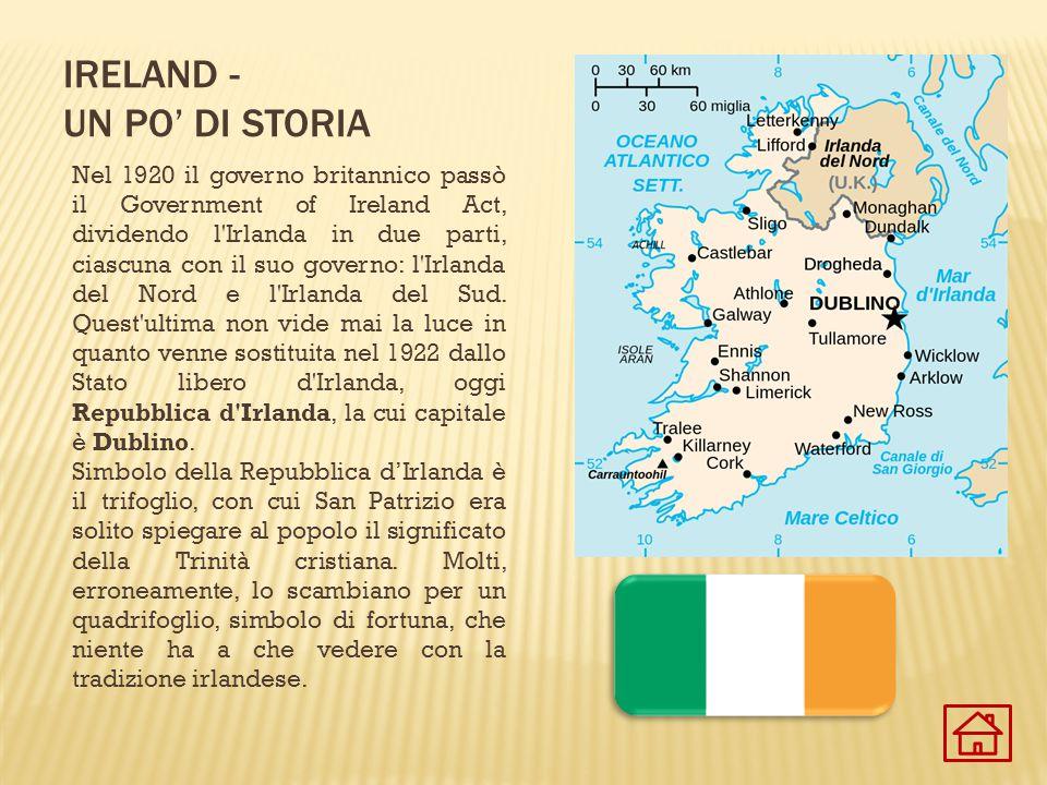ireland - un po' di storia