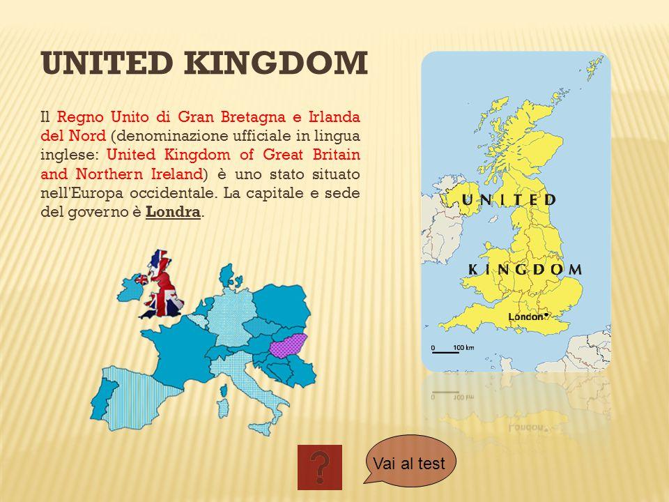 United Kingdom Vai al test