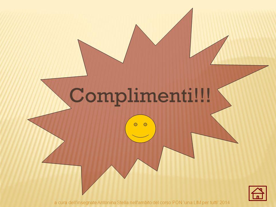 Complimenti!!.