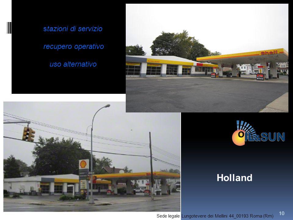 Holland stazioni di servizio recupero operativo uso alternativo