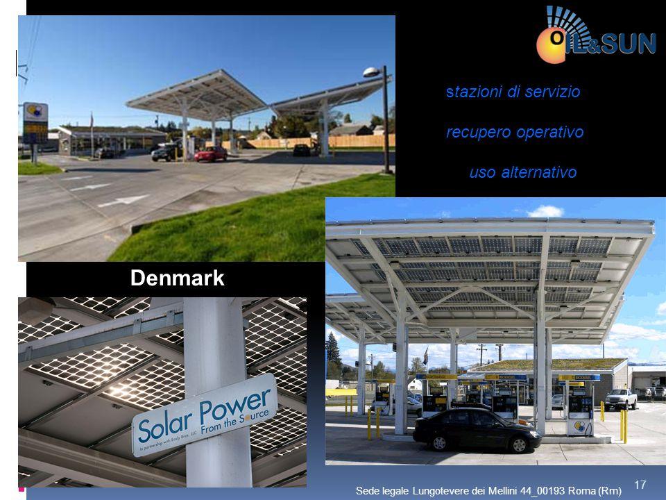 Denmark stazioni di servizio recupero operativo uso alternativo