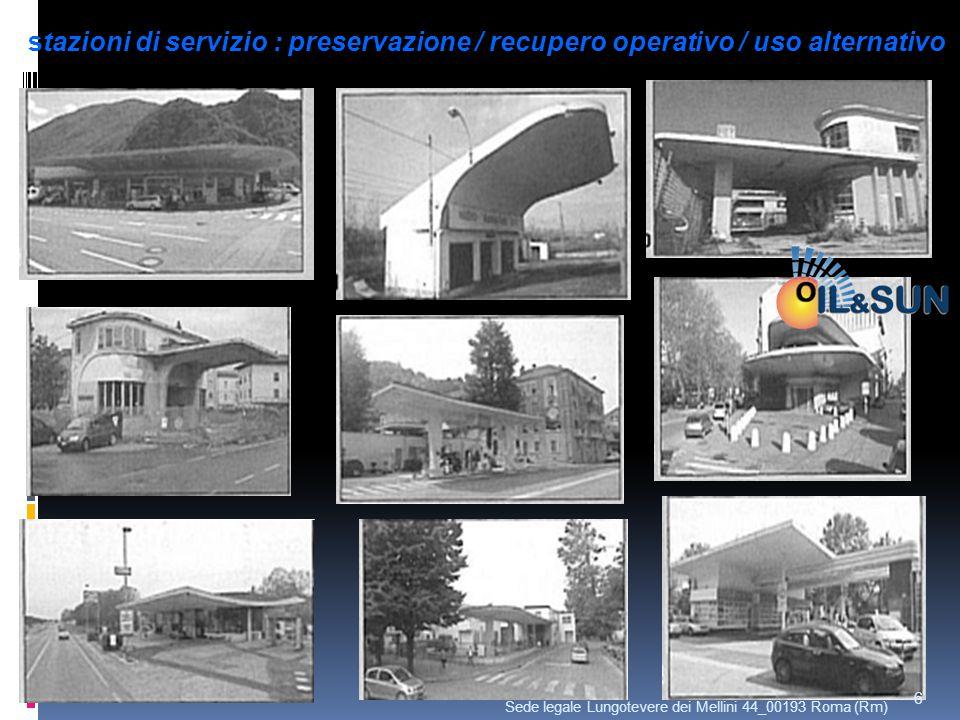 stazioni di servizio : preservazione / recupero operativo / uso alternativo