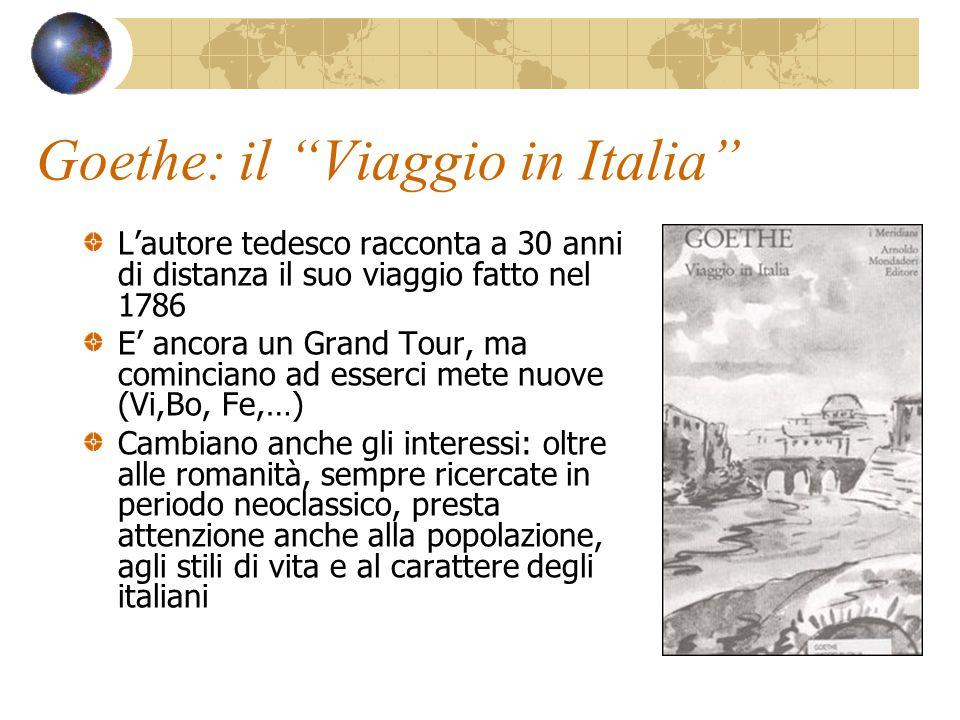 Goethe: il Viaggio in Italia
