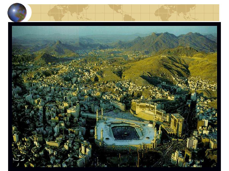 Gli altri pellegrini Pellegrinaggio ancora + importante nell'islam, verso la Mecca. 5° pilastro della religione musulmana.
