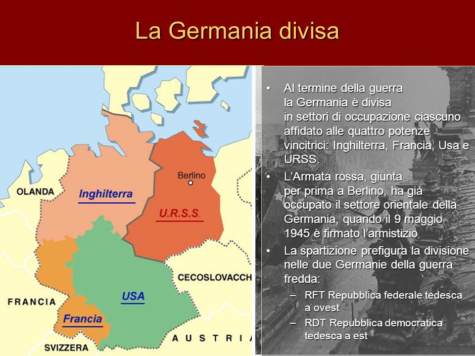 La Germania divisa