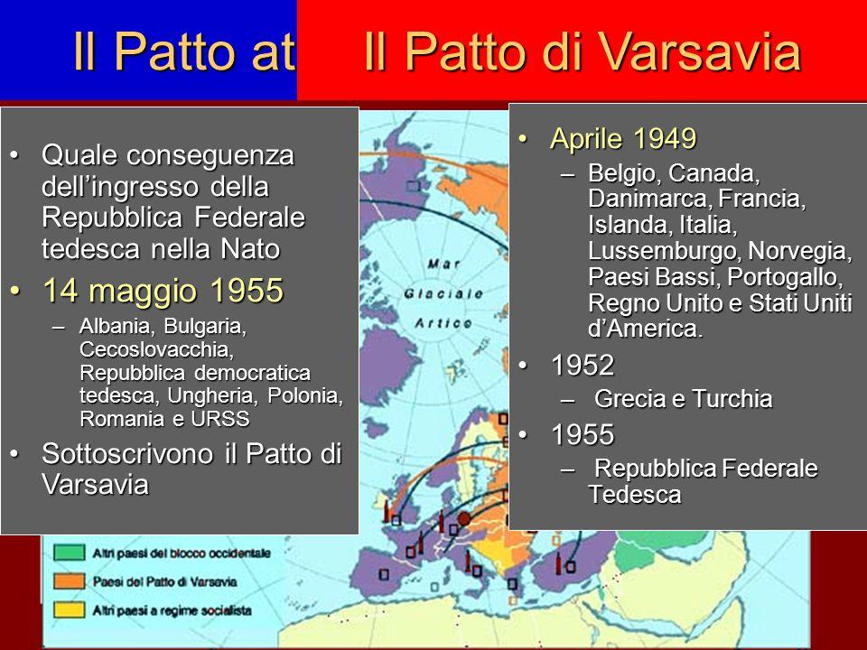 Il Patto atlantico (NATO)