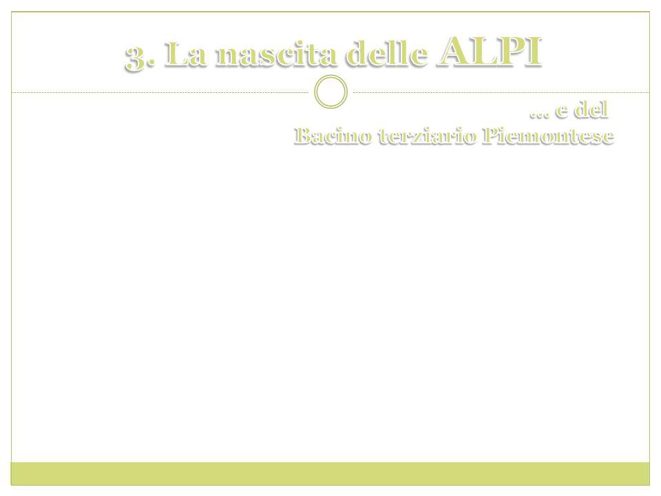 3. La nascita delle ALPI … e del Bacino terziario Piemontese