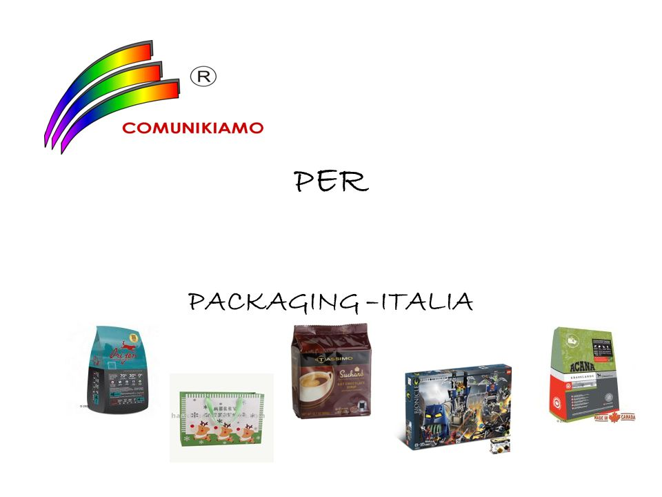 PER PACKAGING –ITALIA
