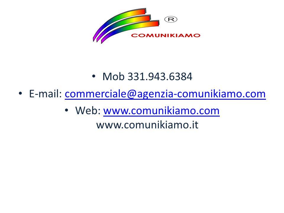 E-mail: commerciale@agenzia-comunikiamo.com