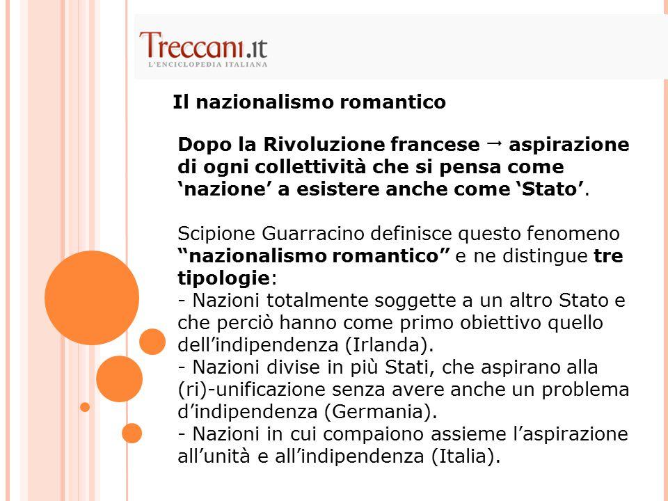 Il nazionalismo romantico