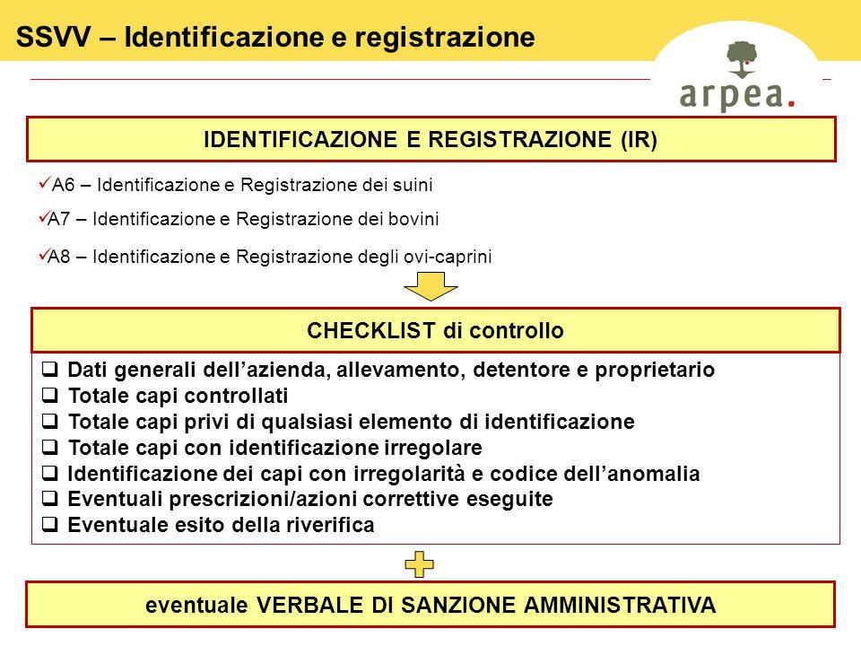 SSVV – Identificazione e registrazione