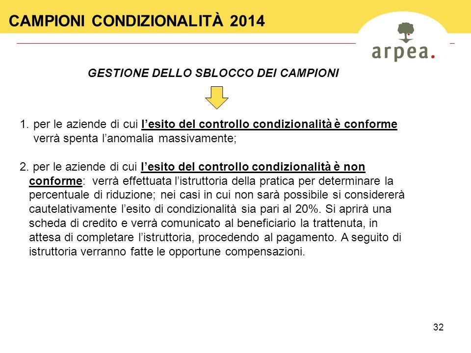 GESTIONE DELLO SBLOCCO DEI CAMPIONI