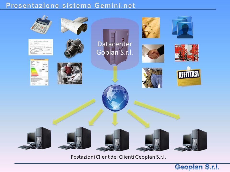 Datacenter Goplan S.r.l. Presentazione sistema Gemini.net