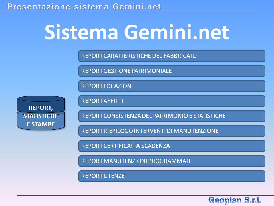 Sistema Gemini.net Presentazione sistema Gemini.net Geoplan S.r.l.