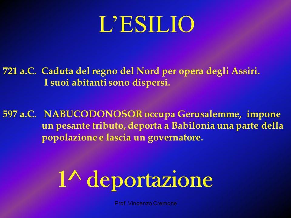 L'ESILIO 1^ deportazione