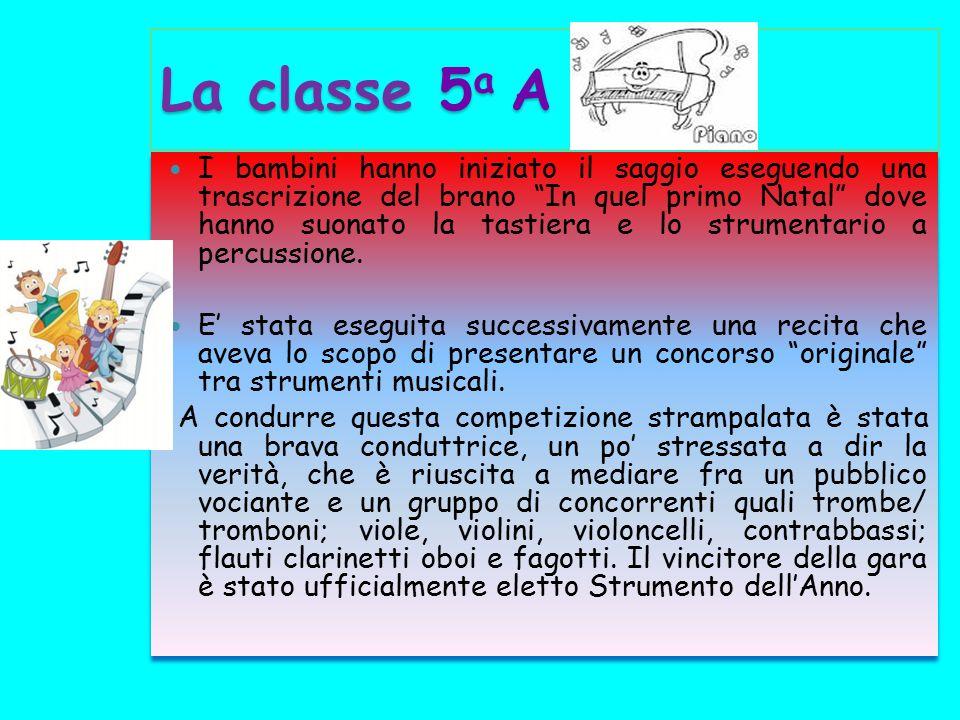 La classe 5a A